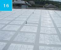 ウレタン塗布完了 中塗りと同様に保護と平滑化が目的、より追従性をたかめるためにウレタンを使用。